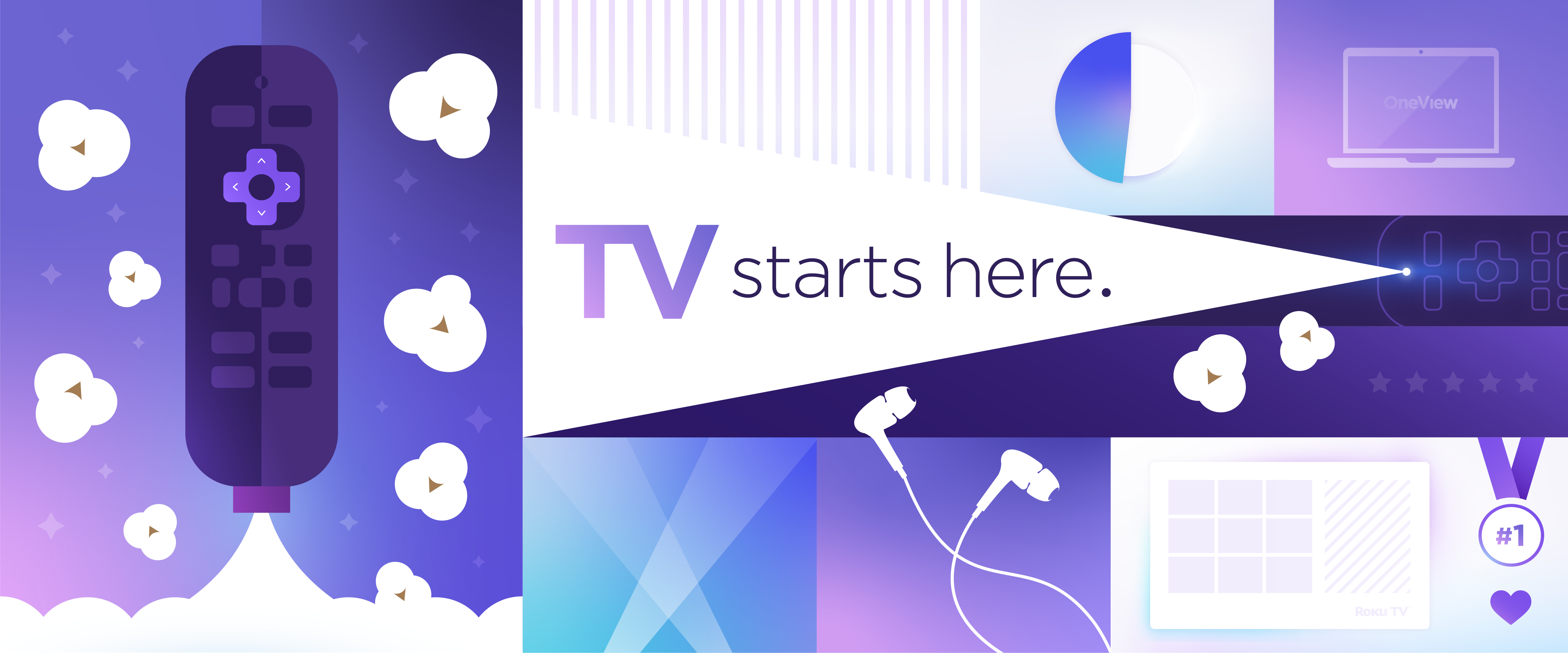 Roku: TV Starts Here.